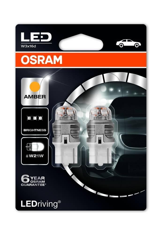 Osram Ledriving Premium WY21/W oranje