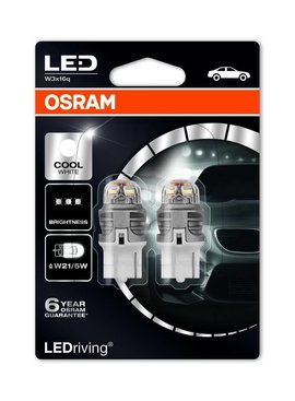 Osram Ledriving Premium W21/5 6000 K