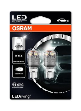 Osram Ledriving Premium W16W 6000k