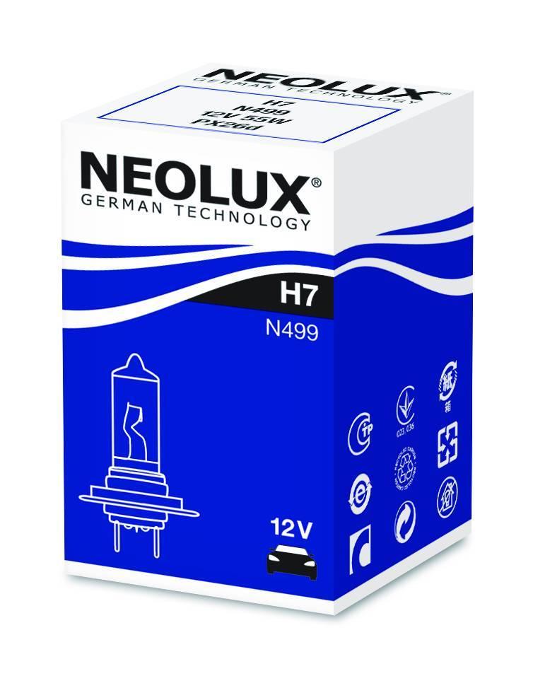Halogène Neolux H7