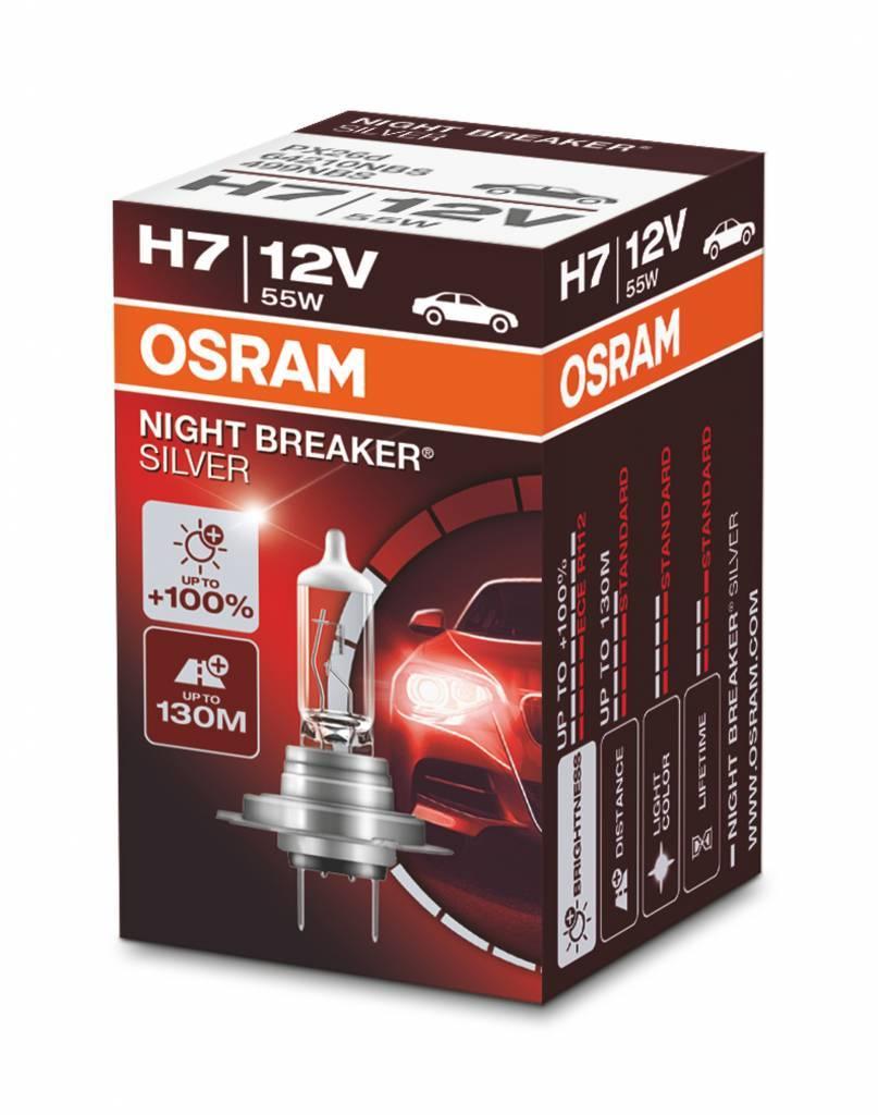 Osram H7 Nightbreaker Silver Simple