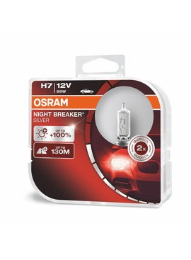 Osram H7 Nightbreaker silver Duo