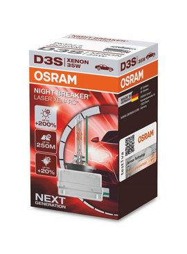 Osram Xenon Night Breaker Laser D3S Simple