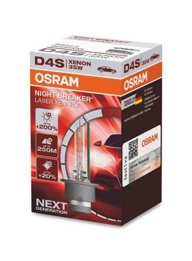 Osram Xenon Night Breaker Laser D4S Simple