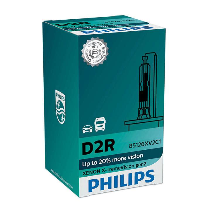 Philips Xenon  D2R Xtreme vision gen2