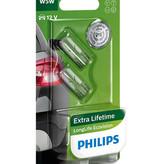Philips Longlife Ecovision wedgebase 12v 5w