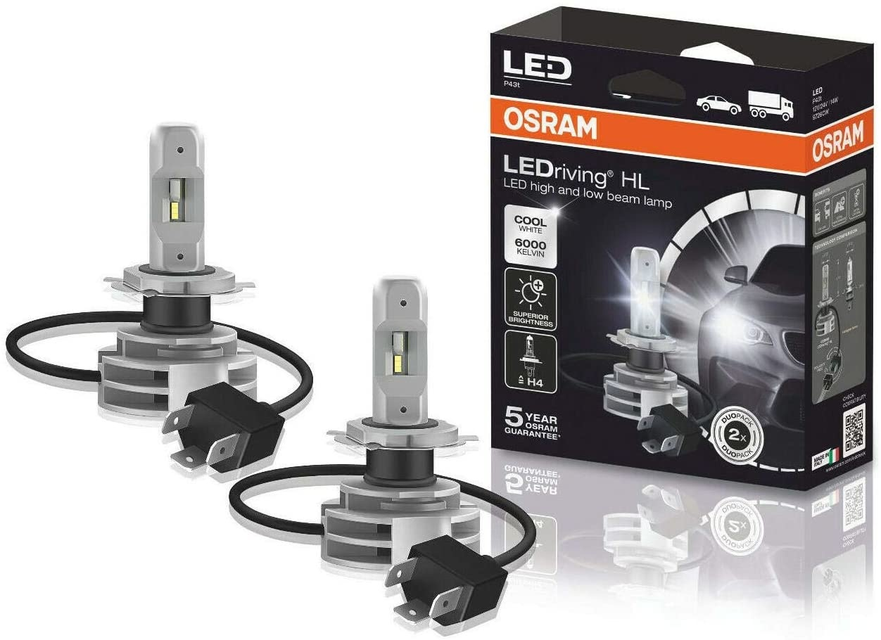 Osram LED H4 Gen2 ombouwset