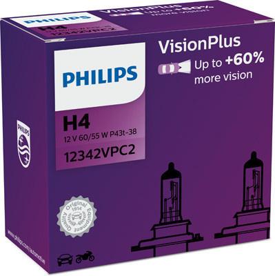 Philips H4 Vision Plus