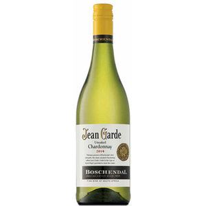 2017 Unoaked Chardonnay, Boschendal, Jean Garde