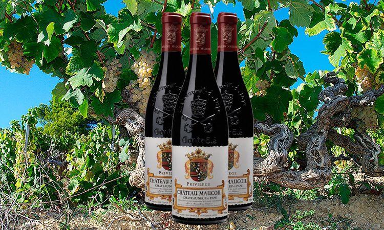 De mooiste Rhône wijnen op de proeftafel.