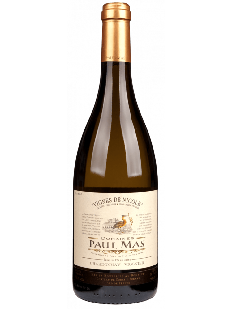 Paul Mas 2020 Paul Mas Vignes de Nicole Chardonnay - Viognier