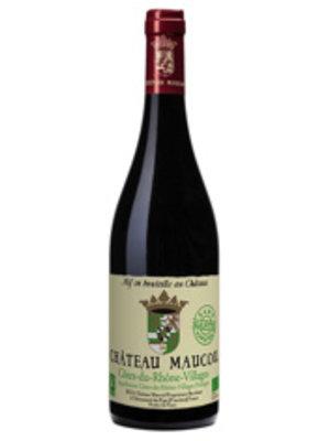 Chateau Maucoil 2019 Côtes du Rhône-Villages, Château Maucoil Sans Sulfites Ajoutés