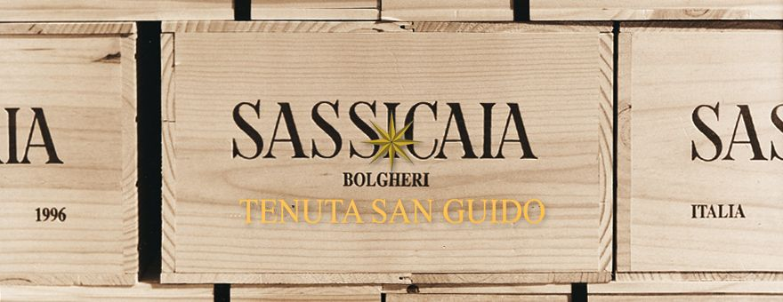 Voorintekening Sassicaia