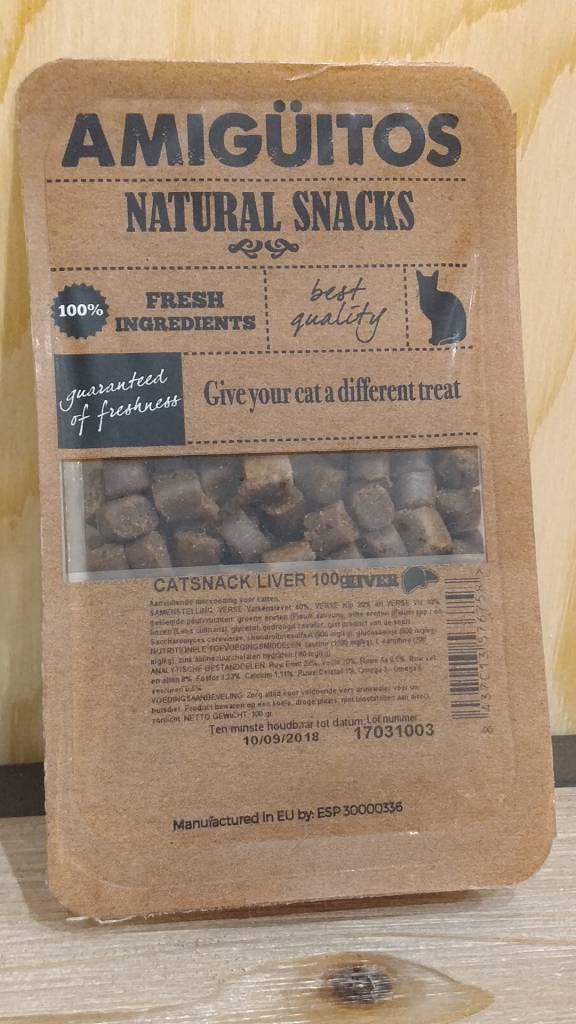 Amiguitos CATSNACK Chicken 100 gr.