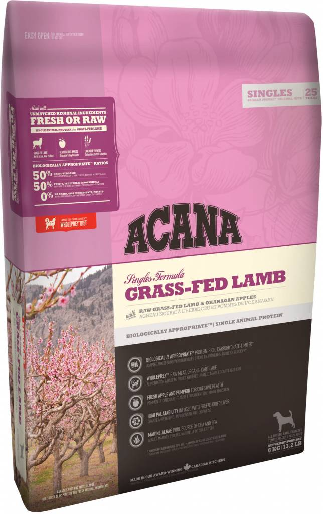 Acana Acana SINGLES Grass-Fed Lamb