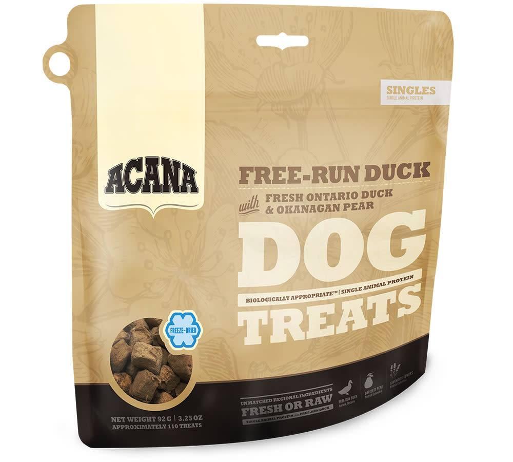 Acana Acana SINGLES FREEZE DRIED TREATS Dog Free-Run Duck