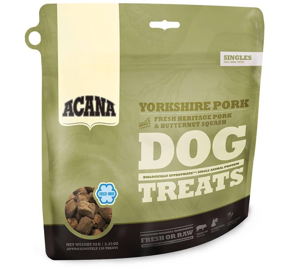 Acana Acana SINGLES FREEZE DRIED TREATS Dog Yorkshire Pork