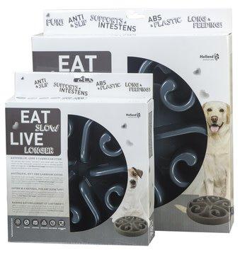 Eat slow live longer voerbak