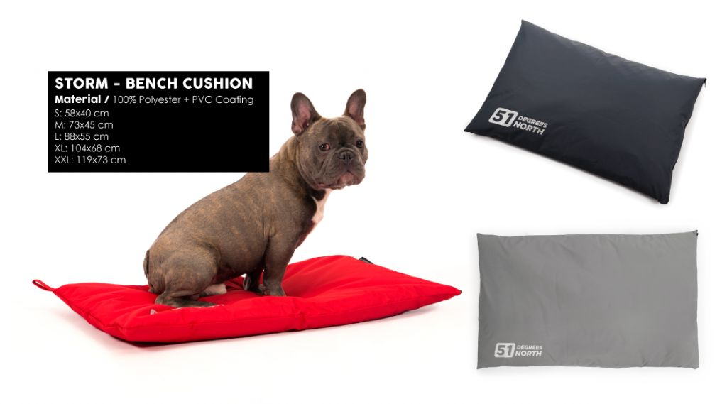 Storm - Bench Cushion