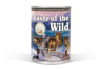 Taste of the Wild Wetlands canine Blik 390gr