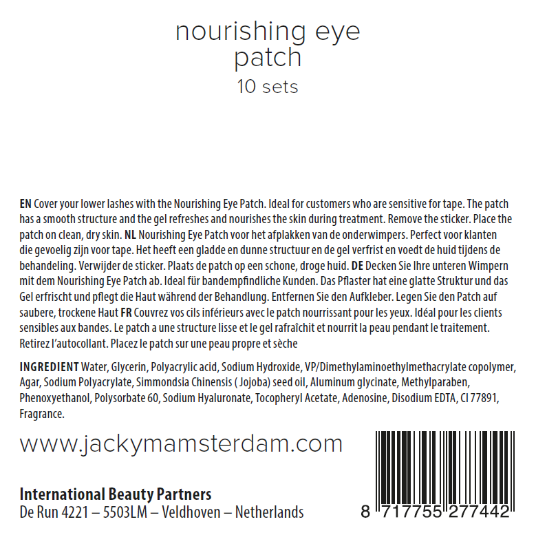 Nourishing Eye Patch 10pcs
