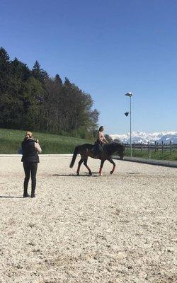 16.-18.04.2021 Klass. Dressur mit Horst Becker im Stall Hundsruggen in 8624 Grüt/CH