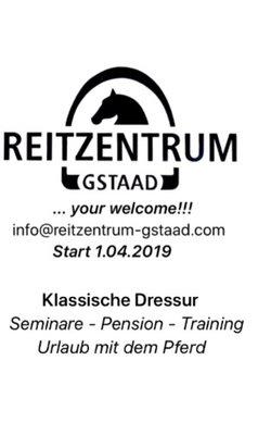 1.04.2019 START IM REITZENTRUM GSTAAD