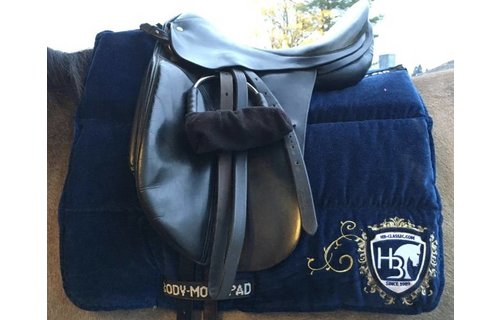 Design by Horst Becker VELVET -  Limited Edition  - BODY-MOVE-PAD BASIC RELAX DRESSAGE
