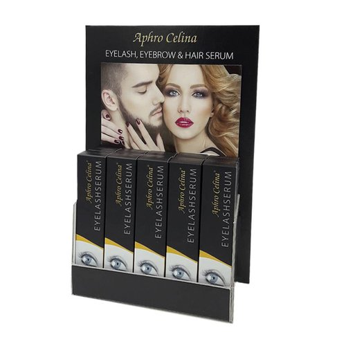 Aphro Celina Product Display Wimperserums