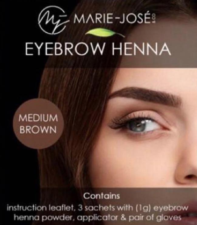 Henna Brows Eyebrow Henna Augenbrauenfarbe