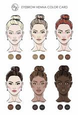 Marie-José Henna Wenkbrauwverf - Henna 5 kleuren