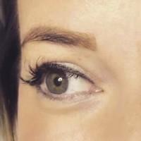 Henna Brows Erfahrung - Brow Henna Augenbrauenfarbe - Vorher & Nachher