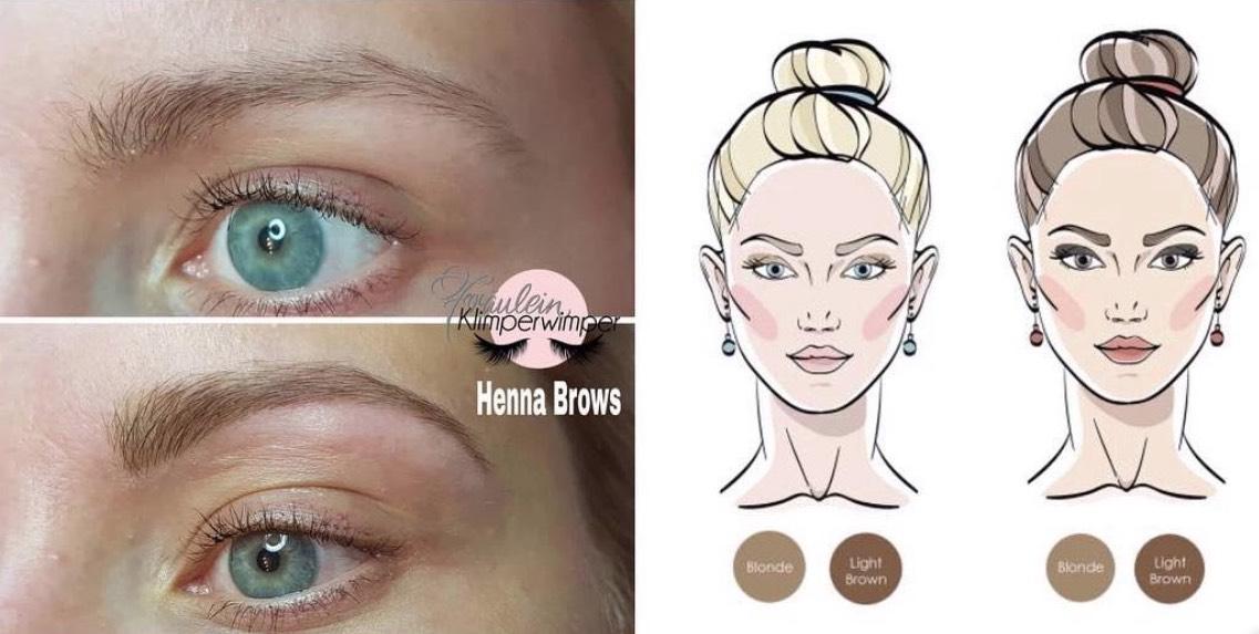 Erfahrungen Brow Henna Blond Augenbrauen Henna Blondinen
