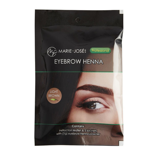 Marie-José Henna Brows Light  Brown (25)
