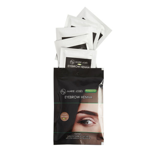 Marie-José Henna Eyebrows Tint Light Brown  - Henna Brows > 25 Applications