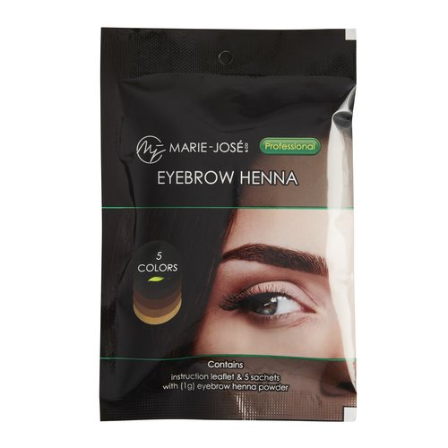 Marie-José Eyebrow Henna 5 Colours (25)