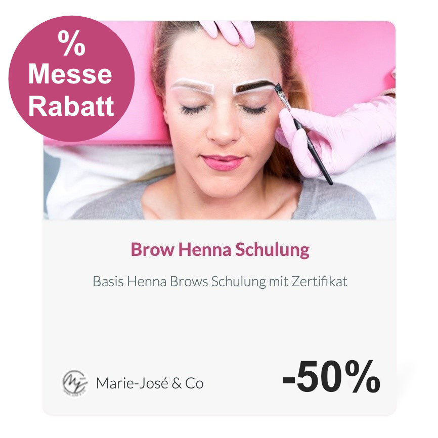 Brow Henna Schulung