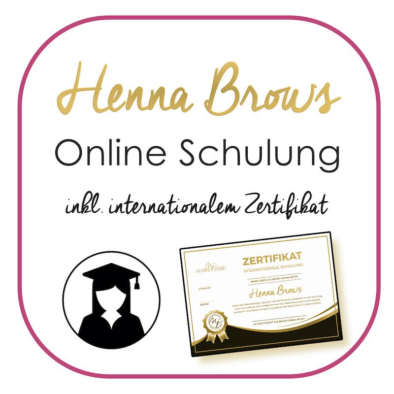 Brow Henna Schulung Deutschland Online