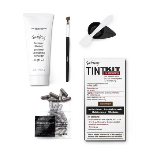 Godefroy Kit profesional Godefroy para teñir las cejas (3 colores)