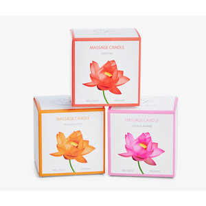 Marie-José Massage oil candle - Scented candle - 3 scents