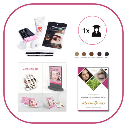 Marie-José Henna Brows  Startset-Trainer
