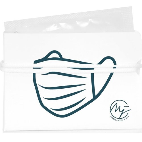 Marie-José Face mask in pouch - 20 pieces