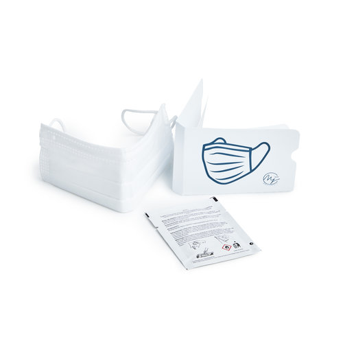 Marie-José Hygiene set with face mask, cleaning cloth and mask holder - 20 pièces