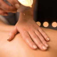 Vela para masaje