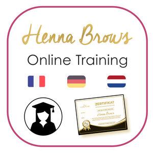 Marie-José Henna Brows Schulung Online