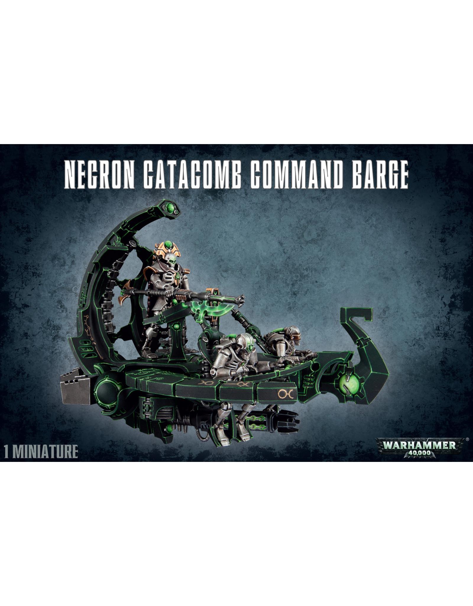 Games-Workshop NECRON CATACOMB CMD BARGE/ANNIHIL. BARGE