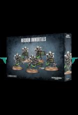 Games-Workshop NECRON IMMORTALS/DEATHMARKS