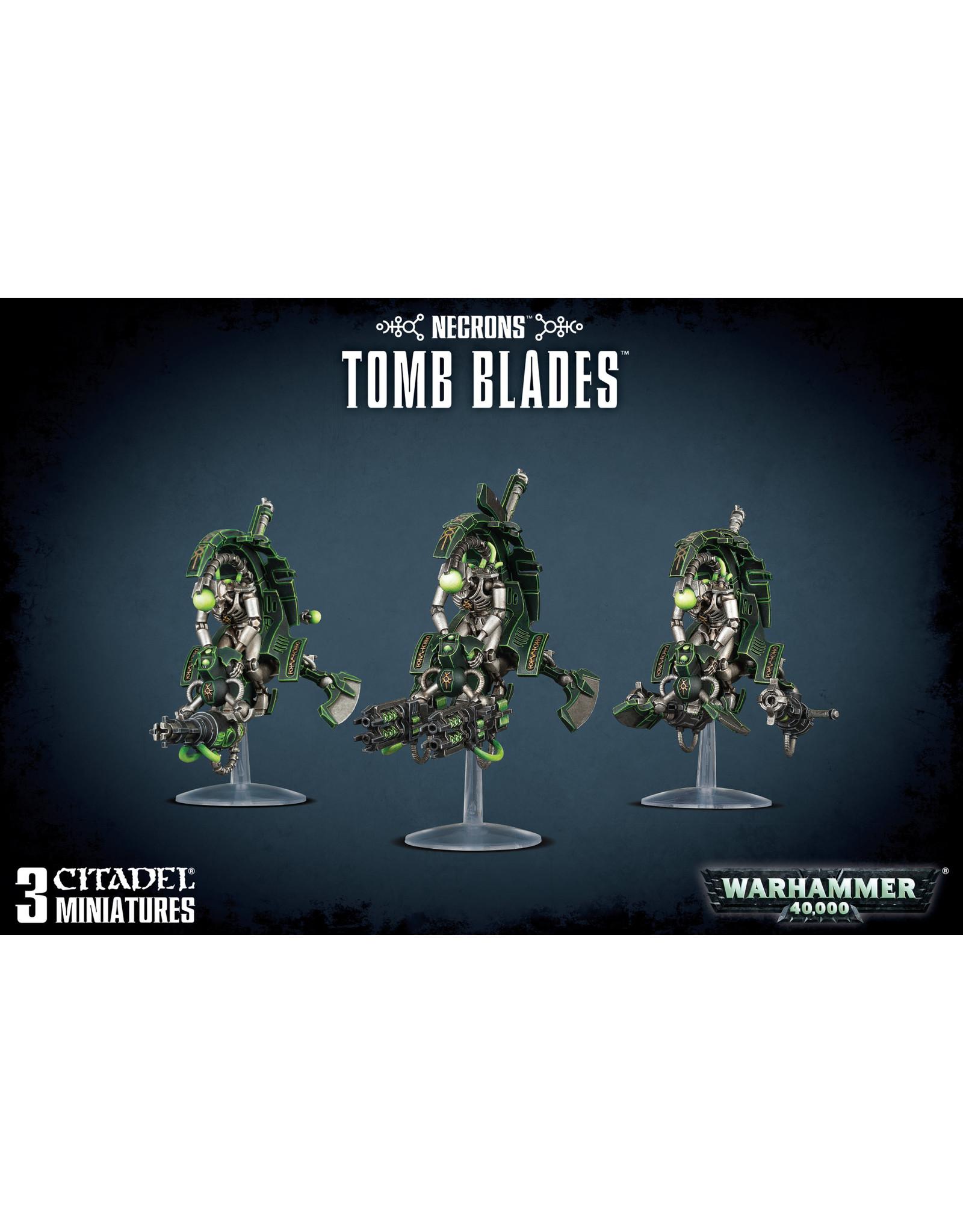 Games-Workshop Necron Tomb Blades