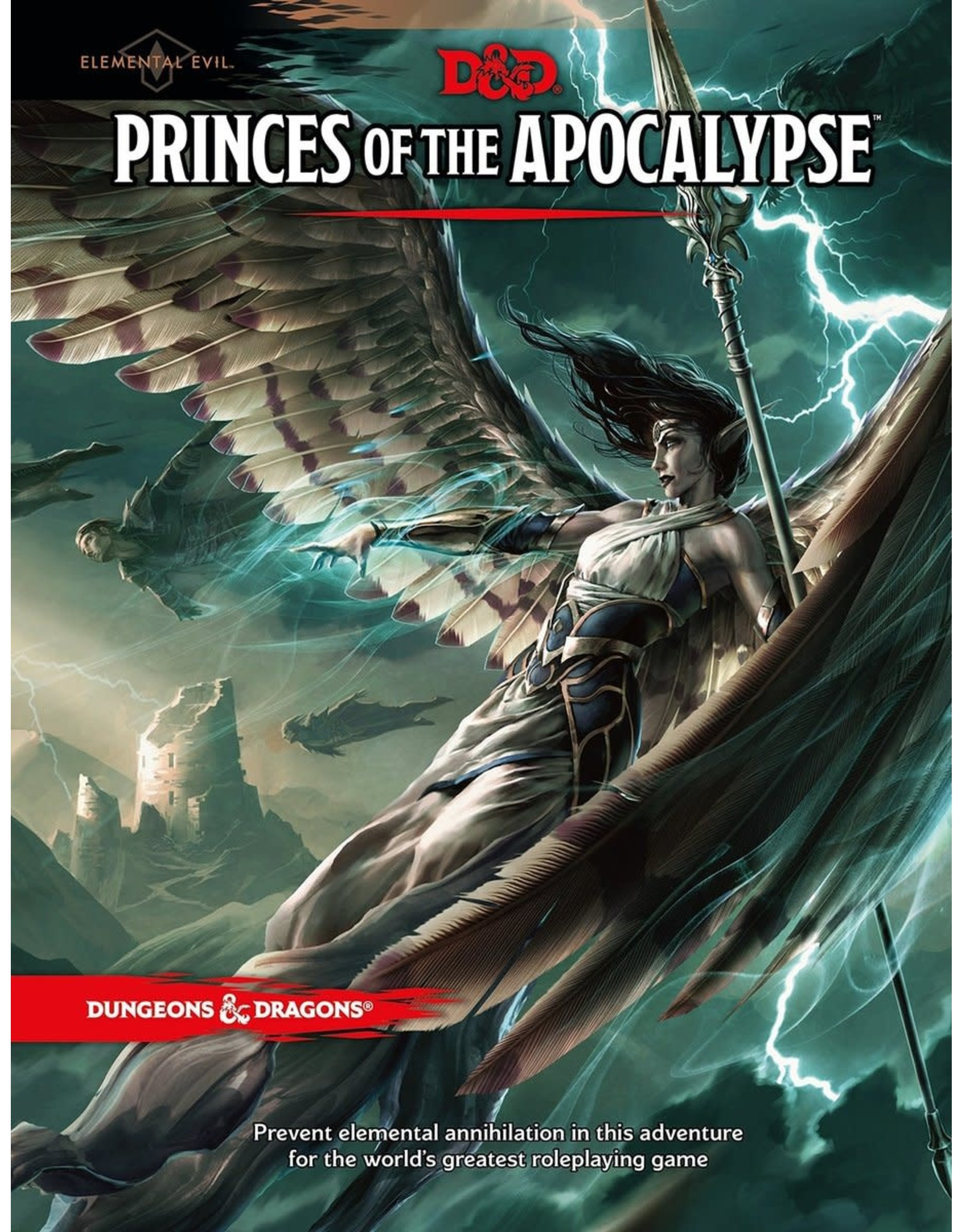 Wizards of the Coast Dungeons and Dragons RPG: Elemental Evil: Princes of the Apocalypse