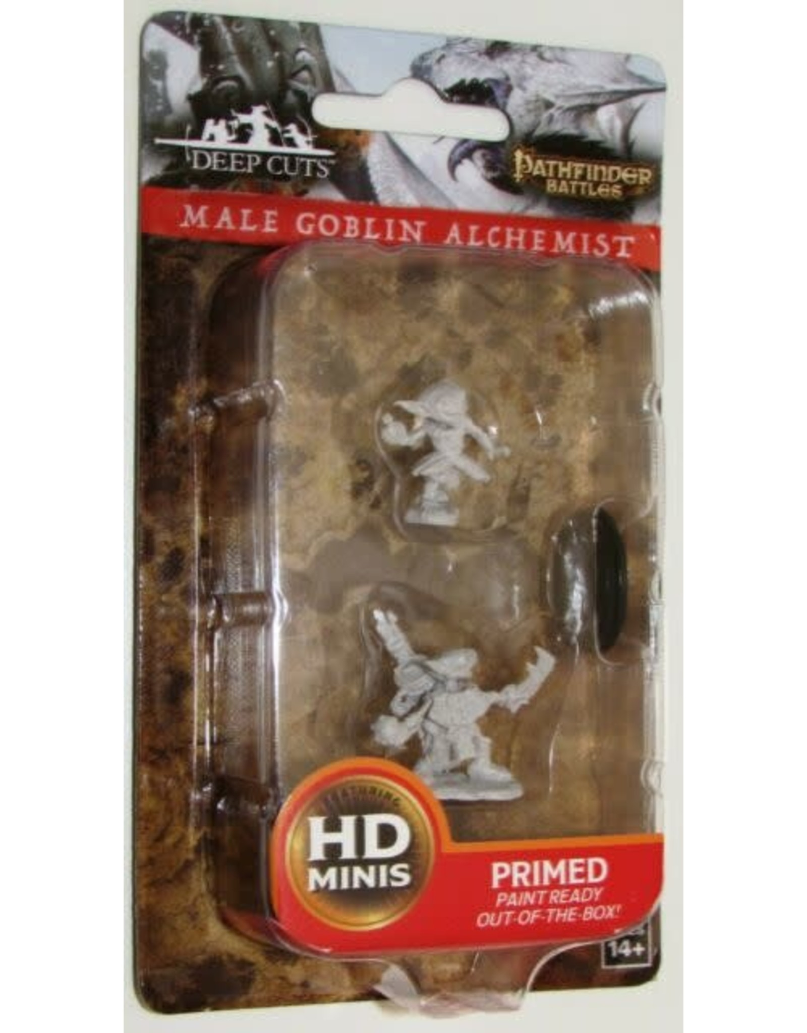 Wiz-Kids Pathfinder Deep Cuts - Male Goblin Alchemist